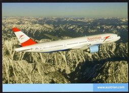 Austrian Airline - Boeing 777 - Nicht Gelaufen - Ohne Zuordnung