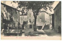 ESPIRA-DE-L'AGLY La Place Et Fontaine - Frankrijk