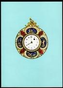 SCHWEIZ 1976 - Taschenuhr / Europa CEPT - Klappkarte - Uhrmacherei