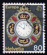 SCHWEIZ 1976 - Taschenuhr / Europa CEPT - Uhrmacherei