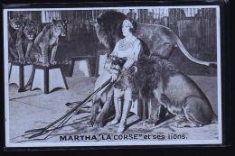 CIRQUE MARTHA LA CORSE ET SON LION - Cinema