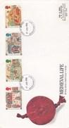 Enveloppe 1er Jour - Scènes De La Vie Des Classes à L'époque Médiévale - Année 1986 - FDC