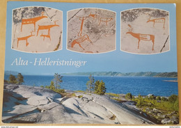 ALTA-HELLERISTNINGER - NORWAY - Alta. Fra Bergbuktenfeltet I Jiebmaluokta - Norvegia