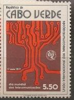 CAPE VERDE 1977  World Telecom Day - Cape Verde