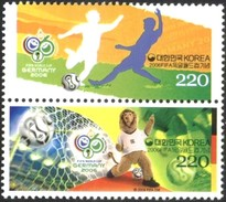 Mint Stamps Sport World Cup Soccer Football Germany 2006  From South Korea - Fußball-Weltmeisterschaft