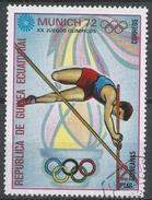 Equatorial Guinea 1972. Scott #72118 (U) Pole Vaulting - Guinée Equatoriale