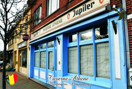 Carte Postale, Restaurants, Famous Restaurants Of  Belgium, Beringen (Limbourg), Taverne Athene - Restaurantes