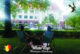 Carte Postale, Restaurants, Famous Restaurants Of  Belgium, Beringen (Limbourg), Whatz Hap - Restaurantes