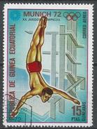 Equatorial Guinea 1972. Scott #72122 (U) Diving - Guinée Equatoriale