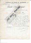 49 - Maine-et-loire - ANDREZE - Facture SOURICE - Fabrique De Toiles Et Mouchoirs - 1899 - REF 62E - 1900 – 1949