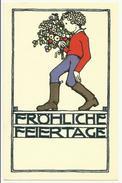 Wiener Werkstatte - Berthold Loffler , WW Karte No. 48 , Edition Molden - Loeffler