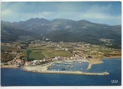 Corse : Macinaggio - Vue Générale, Au Fond Rogliano Sur La Montagne (n°20/261/07 La Cigogne - France