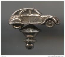 August 4, 2015 CAR / AUTO - Citroen 2CV, Vintage Pin, Badge, Brooch - Citroën