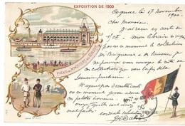 CPA - Exposition De 1900 Belgique - Exhibitions
