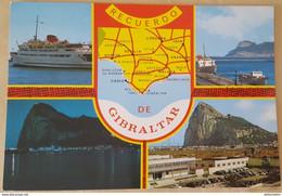 EL PENON DE GIBRALTAR - GIBRALTAR ROCK - RECUERDO DE GIBRALTAR Boat Nv - Gibilterra