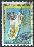 Malagasy Republic  1995   Sc#C200C  500fr FAO Airmail Used