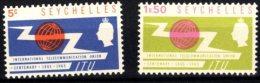 Seychelles, 1965, SG 218 - 219, Complete Set Of 2, Mint Hinged - Seychelles (...-1976)