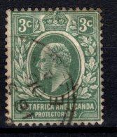 KUT: East Africa And Uganda Protectorates, 1907, SG 35, Used - Kenya, Uganda & Tanganyika