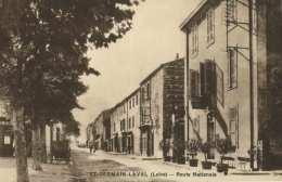 ST-GERMAIN-LAVAL - Route Nationale - Saint Germain Laval