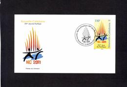 NOUVELLE CALEDONIE - 1er JOUR - XIVème Jeux Du Pacifique - NC2011 - Briefe U. Dokumente