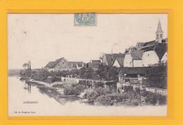 APREMONT -70- Riviere La Saône Et Vue Du Village Le Long De La Saône - Otros Municipios