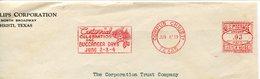20259 U.s.a. Fragment Of Cover,corpus Christi 1939, Red Meter/freistempel/ema/centennial Celeb.buccaneer Day,pirate