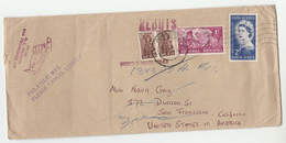 1964 Roodepoort COVER Stamps 'REBUTS' 'UNKNOWN' 'UNCLAIMED' 'RETURNED TO SENDER ' South Africa To USA - South Africa (...-1961)