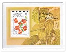 Antigua & Barbuda 1984, Postfris MNH, Flowers - Antigua En Barbuda (1981-...)