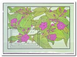 Antigua & Barbuda 1986, Postfris MNH, Flowers - Antigua En Barbuda (1981-...)