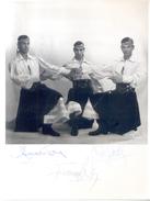 BALLET SUDAMERICANO CARROLL'S ALFREDO CONDE FERNANDO REGO TONY GROL 3 AUTOGRAPHES SUR PHOTO LE STUDIO - Autographes