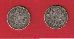 Allemagne -- 1 Mark 1887 A  --  état TTB - 1 Mark