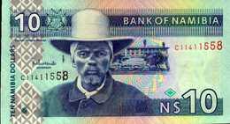 NAMIBIE 10 DOLLARS De 2001nd  Pick 4a  UNC/NEUF - Namibie