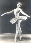 IRENE SKIORIK OR SKORIK FRENCH BALLET DANCER AUTOGRAPHE - BORN IRENE BEAUDEMONT  TRAINED WITH OLGA PREOBRAZHENSKAYA - Autographes
