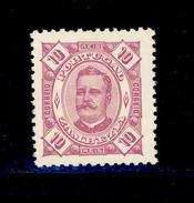 ! ! Zambezia - 1893 D. Carlos 10 R - Af. 03 - MNH - Zambezia