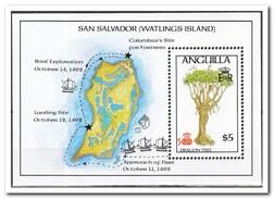 Anguilla 1992, Postfris MNH, Trees - Anguilla (1968-...)