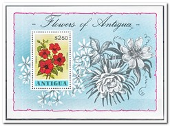 Antigua 1978, Postfris MNH, Flowers - Antigua En Barbuda (1981-...)