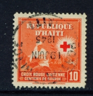 HAITI  -  1945  Red Cross  10c  Used As Scan - Haiti