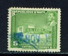 HAITI  -  1951  Magloire Projects  3c  Used As Scan - Haïti