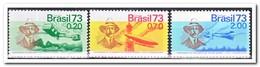 Brazilië 1973, Postfris MNH, Airplane, Zeppelin - Brazilië
