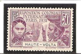 HAUTE VOLTA    EXPOSITION COLONIALE DE PARIS  N° 66* Charnières - Obervolta (1920-1932)