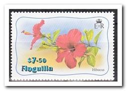 Anguilla 1982, Postfris MNH, Flowers, Overprint - Anguilla (1968-...)