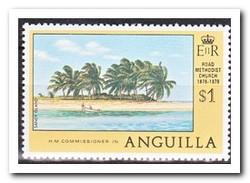 Anguilla 1978, Postfris MNH, Trees, Overprint - Anguilla (1968-...)
