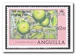 Anguilla 1980, Postfris MNH, Plants, Overprint - Anguilla (1968-...)