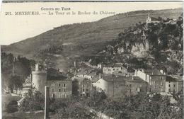 Lozère : Meyrueis, La Tour Et Le Rocher Du Chateau - Meyrueis