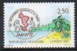 """FR YT 2735 """" Ile De Mayotte """" 1991 Neuf** - France"""