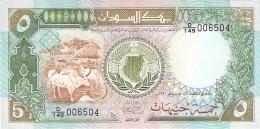 SOUDAN   5 Pounds   1990   P. 40c   UNC - Soudan