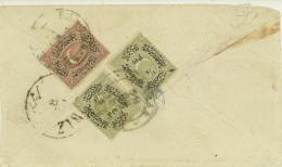 Turkey  Duloz Cover To Persia (383) - 1858-1921 Ottoman Empire
