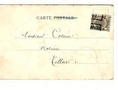 TP 53 S/CP Grotte De Han Roulette Bruxelles 1902 V.Tilleur PR4299 - Precancels