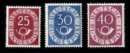 Allemagne/RFA YT N° 17/19 Neufs ** MNH. TB. A Saisir!