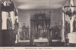 SAINT-ALGIS - Eglise - Vue Intérieure - Andere Gemeenten